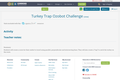 Turkey Trap Ozobot Challenge