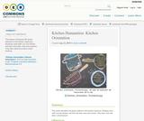 Kitchen Humanities: Kitchen Orientation