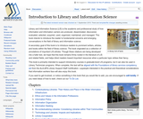 Introduction to Library and Information Science