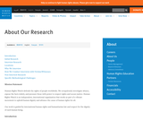 Human Rights Watch: Our Research Methodology