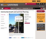 Community Growth and Land Use Planning, Fall 2010