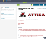 Chemistry Laboratory Safety Contract