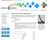 Physics in the Toy Room: Toppling Towers