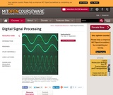 Digital Signal Processing, Spring 2011