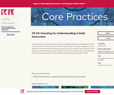 CP 29: Checking for Understanding in Daily Instruction