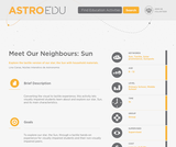 Meet Our Neighbour: Sun