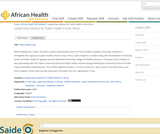 Leadership Initiative for Public Health in East Africa