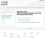 AJCU November 2015: International Service Learning: Nursing & Public Health