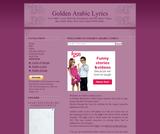 Golden Arabic Lyrics
