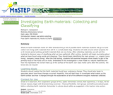 Investigating Earth Materials:  Collecting and Classifying