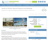 Natural Frequency and Buildings