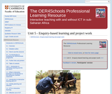 Enquiry-based Learning and Project Work