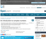 an Introduction to Complex Numbers