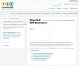 SOP Title IV-E  Waiver Collaboratives