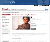 Health Issues for Aging Populations