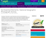 Six Essential Elements- National Geographic Photograph Activity