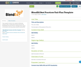 BlendEd Best Practices Unit Plan Template
