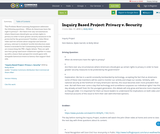 Inquiry Based Project: Privacy v. Security