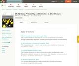Probability & Statistics - Basic Short Course (Student's Edition)