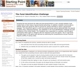 The Fund Identification Challenge