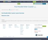 Pool Noodle Roller Coaster