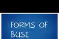 Accounting: Forms of Business