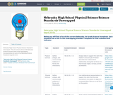 Nebraska High School Physical Science Science Standards Unwrapped
