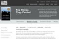 The Things They Carried  by Tim O'Brien - Reader's Guide