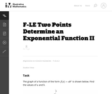 Two Points Determine an Exponential Function Ii