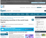 Developing Countries in the World Trade Regime