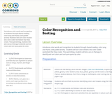 Color Recognition and Sorting