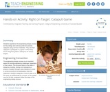 Right on Target: Catapult Game