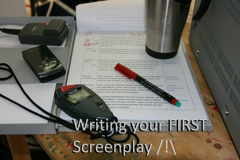 Writing your FIRST ScreenPlay !