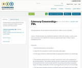 Literary Censorship--PBL