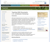 U.S. Constitution Workshop