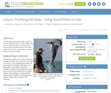 Plumbing the Deep - Using Sound Waves to See