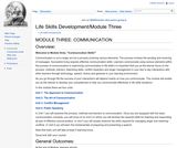 Module Three: Communication