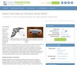 How Does an Ultrasonic Sensor Work?