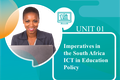 Imperatives in the South African ICT in Education Policy
