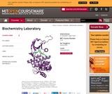 Biochemistry Laboratory, Spring 2009
