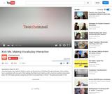 Kick Me: Making Vocabulary Interactive