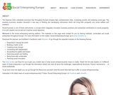 Social Business Training Learners - Handbook