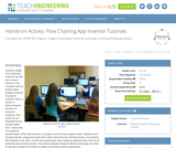 Flow Charting App Inventor Tutorials
