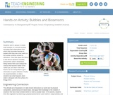 Bubbles and Biosensors