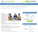 Household Energy Conservation and Efficiency