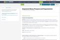 Argument Essay:  Purpose and Organization
