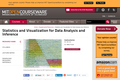 Statistics and Visualization for Data Analysis and Inference, January IAP 2009