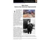 Weir Farm: Home of an American Impressionist