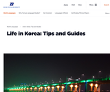 Life in Korea: Tips and Guides