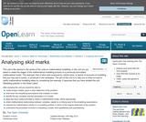 Analysing Skid Marks